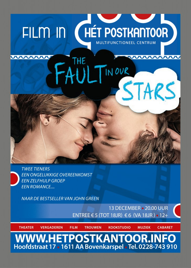 Filmposter The Fault in our Stars